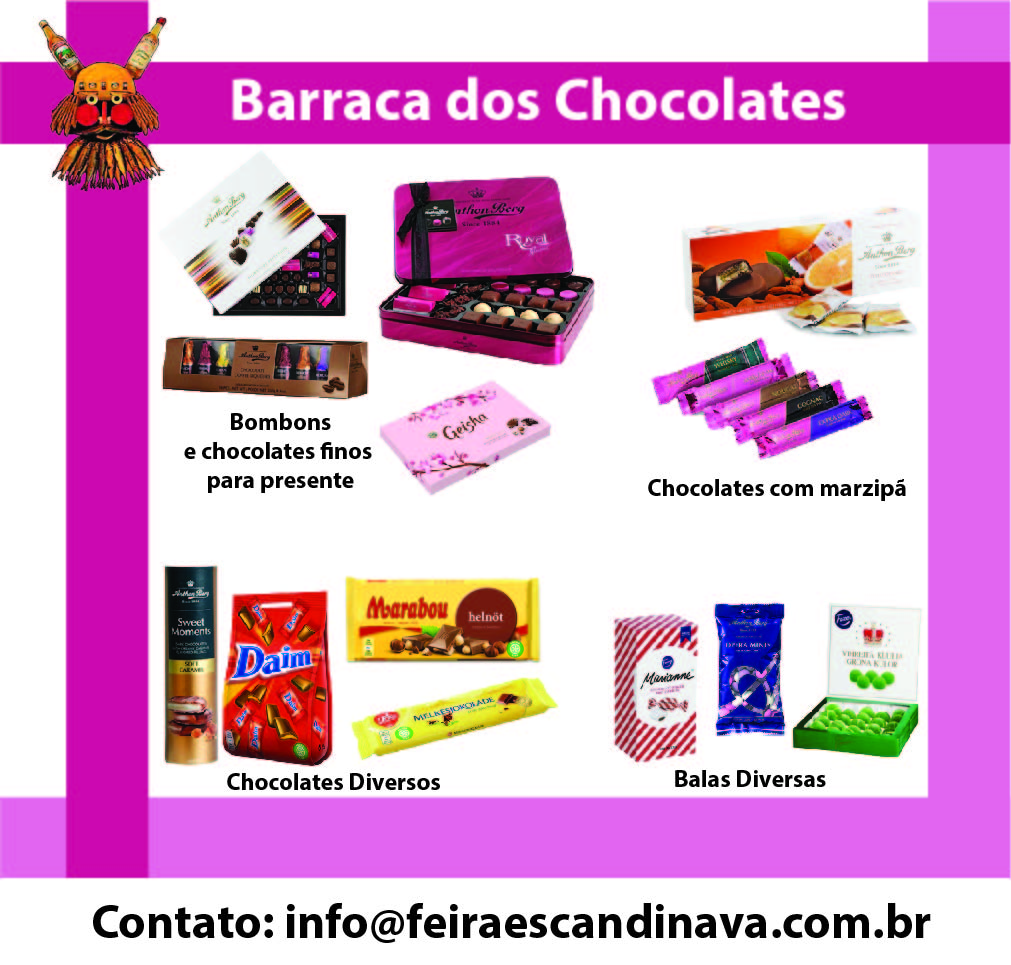 Layout Chocolates
